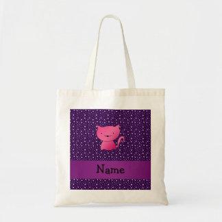 Estrellas rosadas conocidas personalizadas de la p bolsa