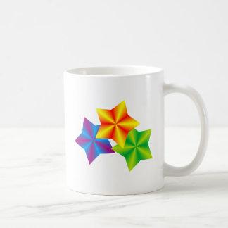Estrellas stars tazas de café
