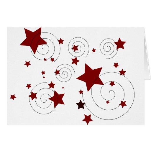 Estrellas Tarjeta De Felicitación