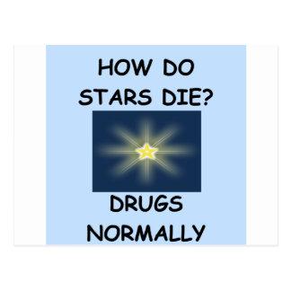 estrellas postal