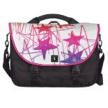 Estrellas y arco iris de los garabatos bolsas de portátil