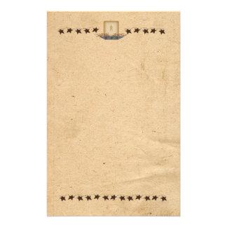 Estrellas y efectos de escritorio oxidados de la papeleria personalizada