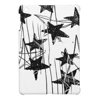 Estrellas y garabatos iPad mini cobertura