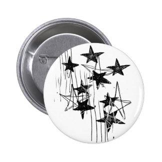 Estrellas y garabatos pins