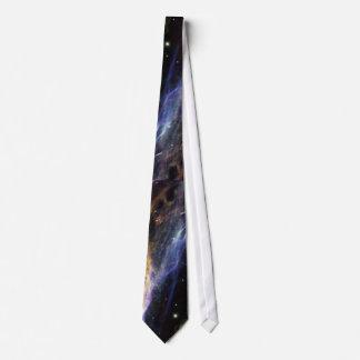 Estrellas y la nebulosa corbata