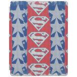 Estrellas y logotipo del superhombre cover de iPad