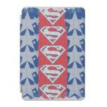 Estrellas y logotipo del superhombre cover de iPad mini