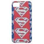 Estrellas y logotipo del superhombre iPhone 5 Case-Mate cárcasas