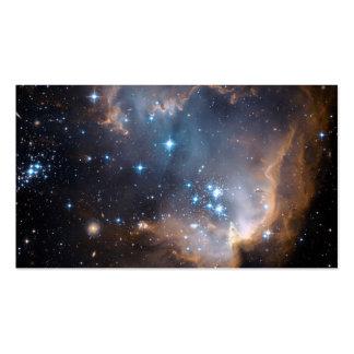Estrellas y nebulosas tarjetas de visita