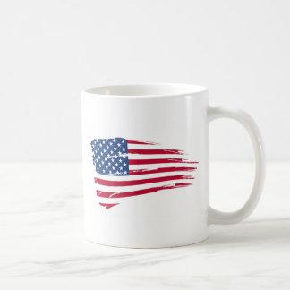 Estrellas y orgullo del americano de las rayas tazas