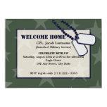 Estrellas y placas de identificación militares comunicados