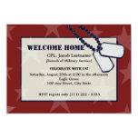 Estrellas y placas de identificación militares anuncio personalizado