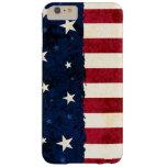 Estrellas y rayas americana de la gente funda de iPhone 6 plus barely there