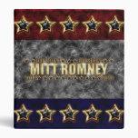 Estrellas y rayas de Mitt Romney