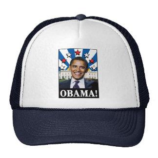 Estrellas y rayas de Obama Gorros