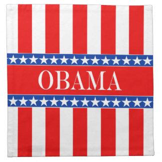 Estrellas y rayas de Obama Servilletas De Papel