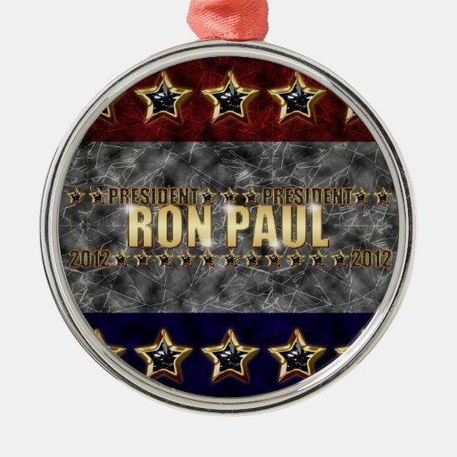Estrellas y rayas de Ron Paul Ornamento De Reyes Magos