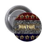 Estrellas y rayas de Ron Paul Pin