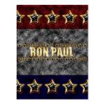 Estrellas y rayas de Ron Paul Tarjetas Postales