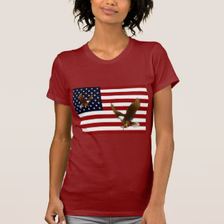 Estrellas y rayas camiseta