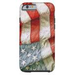 Estrellas y rayas viejas de la gloria funda de iPhone 6 tough