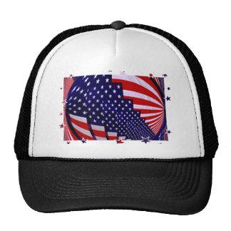 Estrellas y Stripe_ de Estados Unidos Gorro