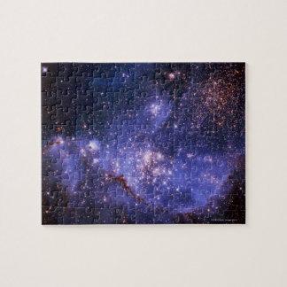 Estrellas y vía láctea rompecabezas