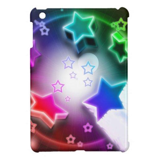 Estrellato azul iPad mini fundas