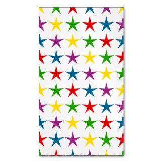 ¡ESTRELLATO! .png Tarjetas De Visita Magnéticas (paquete De 25)