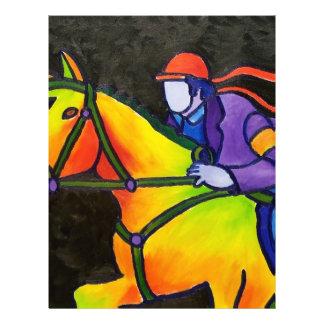 """Estrellazo del caballo folleto 8.5"""" x 11"""""""