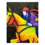 Estrellazo del caballo tarjetas publicitarias