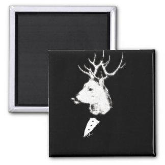 Estrellazo del smoking de los ciervos imanes de nevera