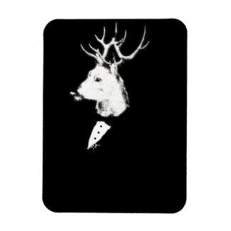Estrellazo del smoking de los ciervos imanes de vinilo