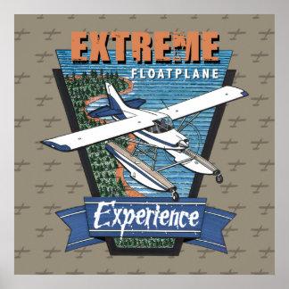Estreme Floatplane Experience Poster