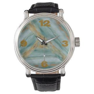 Estriaciones de mármol relojes de mano