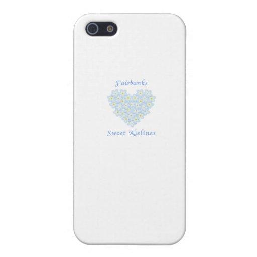 Estribillo dulce de Fairbanks Adelines iPhone 5 Carcasa