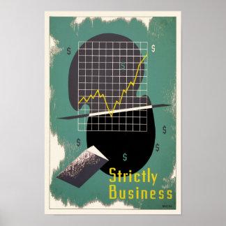 Estrictamente negocio póster