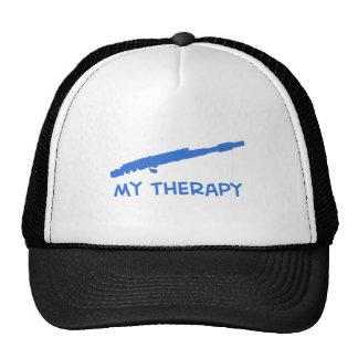 Estríe mis diseños de la terapia gorros bordados