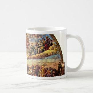 Estrofa Della Signatura en el Vatican para papa ju Tazas De Café