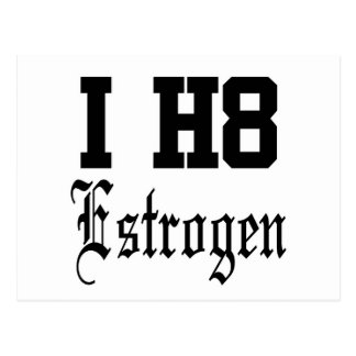 estrogen postcard