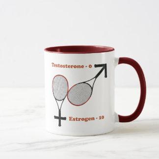 Estrogen Tennis Mug