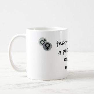 Estrogen vs Testosterone Coffee Mug