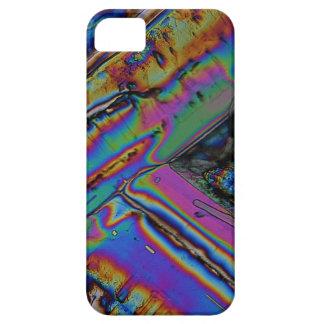 Estroncio debajo del microscopio iPhone 5 Case-Mate carcasas