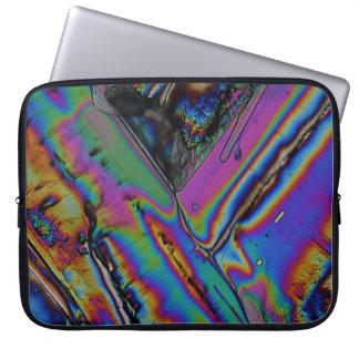 Estroncio debajo del microscopio funda portátil