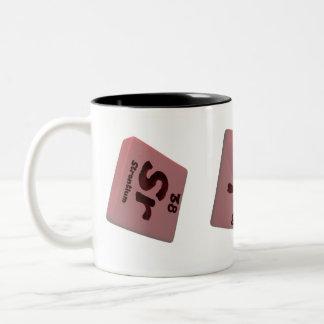 Estroncio del senior taza