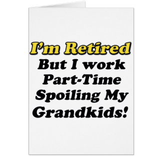 Estropeo de mis Grandkids Tarjeta De Felicitación