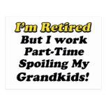 Estropeo de mis Grandkids Tarjeta Postal