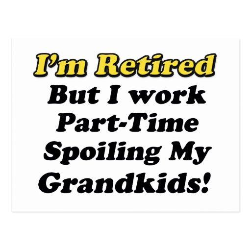 Estropeo de mis Grandkids Postal