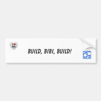 ¡Estructura, Bebe, estructura! Pegatina Para Auto