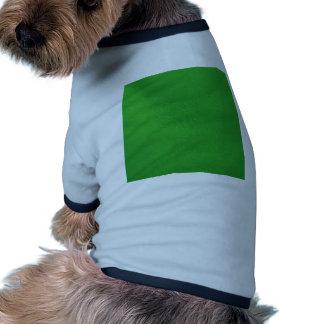 estructura de cuero, verde ropa para mascota